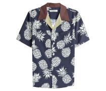 Hemd mit Ananas-Print