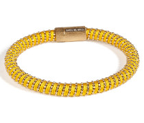 Vergoldetes Armband Twister in Yellow