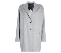 Oversize-Mantel aus Wolle und Kaschmir