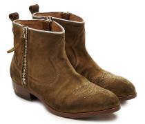 Cowboy Boots Anouk aus Veloursleder