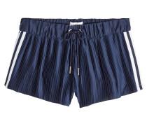 Shorts mit Plissees