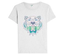 T-Shirt aus Baumwolle mit Printmotiv