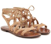 Gladiator-Sandalen aus Leder