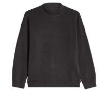 Sweatshirt mit Baumwolle und Stehkragen