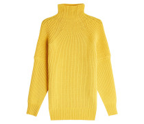 Pullover aus Wolle mit Stehkragen