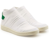 Sneakers Stan Smith Sock Primeknit aus Textil und Leder