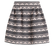 Flared-Skirt aus Bouclé