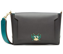 Leder-Schultertasche Space Invaders Bathurst