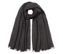 Schal aus Kaschmir und Seide mit Pailletten