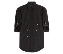 Oversize-Hemd aus Wolle