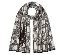 Schal aus Baumwolle und Kaschmir