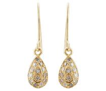 Chandelier-Ohrringe aus 18kt Gelbgold mit Diamanten