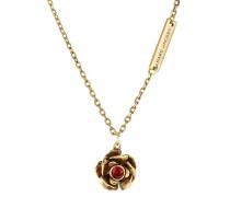 Halskette mit Blütenanhänger