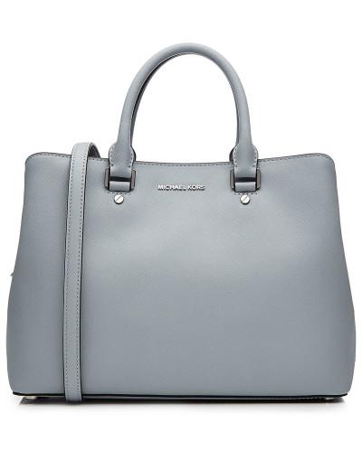 michael kors damen handtasche savannah aus leder reduziert. Black Bedroom Furniture Sets. Home Design Ideas