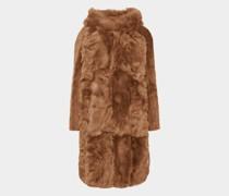 Mantel mit Seitenschlitzen