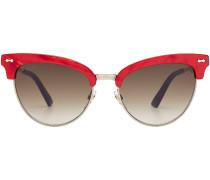Cat Eye Sonnenbrille mit Glitter Finish