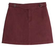 Mini-Skirt aus Baumwolle
