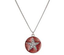 Halskette Star mit Anhänger in Amulettform