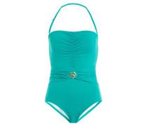 Bandeau-Swimsuit mit Neckholder