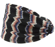 Gemustertes Haarband mit Wolle