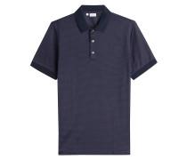 Kariertes Polo-Shirt aus Baumwolle