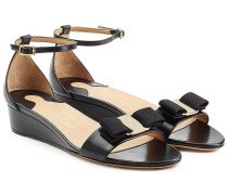 Wedge-Sandalen Margot aus Lackleder