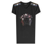 Besticktes T-Shirt mit Décor