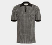 Poloshirt mit Schurwolle