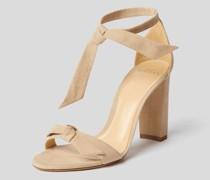 Sandaletten mit Knoten-Details