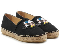 Espadrilles Choupette on the Beach