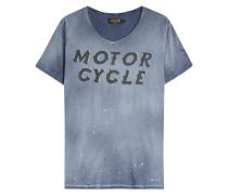 Print-Shirt Motorcycle aus Baumwolle