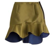 Volant-Skirt im Color-Block-Look