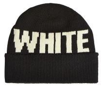 Gestrickte Mütze aus Wolle