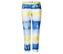 Slim-Fit-Pants im Batik-Look