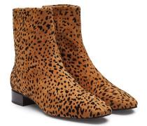Gemusterte Ankle Boots Aslen aus Leder