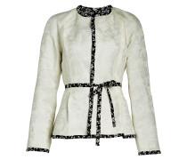 Wendbare Jacke aus Leinen und Seide