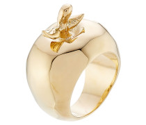 18kt vergoldeter Cocktail-Ring Lauren