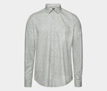 Slim-Fit-Hemd Rikki aus Cotton Bamboo mit Print