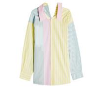 Getreifte Bluse aus Baumwolle