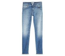 Cropped Skinny Jeans aus Baumwolle