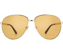Aviator-Sonnenbrille mit Metallfassung