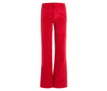 Flared Pants aus Cord