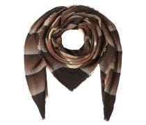 Gestreifter Schal aus Schurwolle