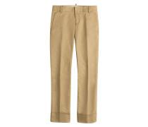 Cropped Chino Pants
