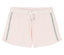Sweat-Shorts mit Zip
