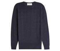 Strukturierter Pullover aus Wolle