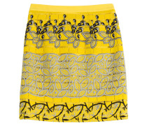 Bestickter Pencil-Skirt