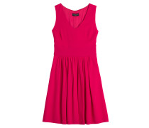 Flared-Dress aus Krepp