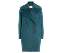 Mantel mit Wolle, Mohair und Alpaka
