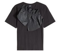 T-Shirt aus Baumwolle mit Applikation